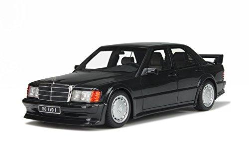 Mercedes W201 190 E 2.5-16 Evo 1 schwarz Modellauto OT151 Otto 1:18