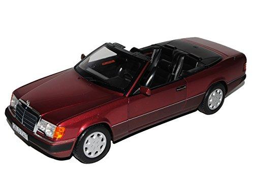 Norev Mercedes-Benz E-Klasse 300 CE W124 A124 Cabrio Almandin Rot 1984-1997 1/18 Modell Auto