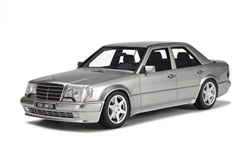 Mercedes W124 E-Klasse E 500 Limited silber Modellauto OT623 Otto 1:18