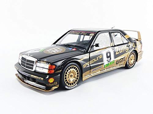 Solido 421185590 S1801003 Mercedes Benz 190 EVO 2 DTM #9, GP Macau 1991, Fahrer: K. Ludwig, Modellauto, Maßstab 1:18, Mehrfarbig