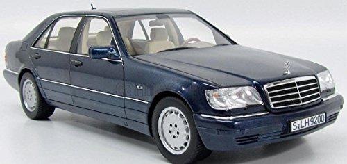Mercedes W140 V140 S 500L S-Klasse azurit blau Modellauto Norev 1:18
