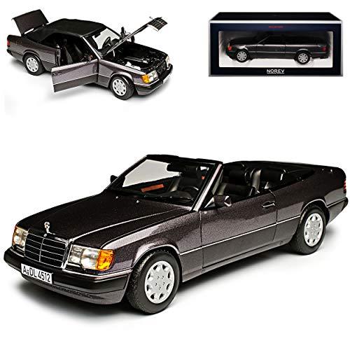 Norev Mercedes-Benz E-Klasse 300 CE W124 A124 Cabrio Bornit Grau 1984-1997 1/18 Modell Auto
