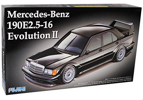 Fujimi Mercedes-Benz C-Klasse W201 190E 2.5 16 Evolution II 1982-1993 Kit Bausatz 1/24 Modell Auto Modell Auto