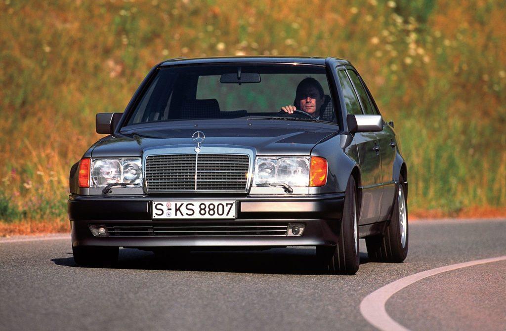 1991 1994 mercedes benz 500e e500 w124 front view 05