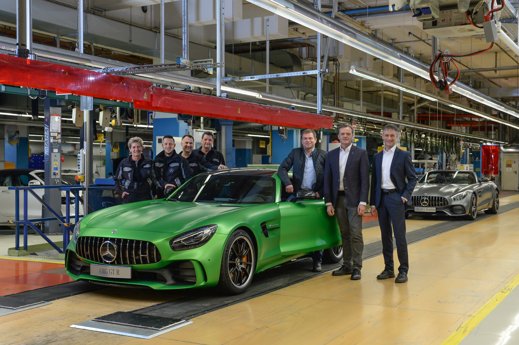 AMG GT im Werk Sindelfingen