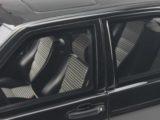 Mercedes W201 190E 25 16 Evo1 schwarz Modellauto OT151 Otto 18 Box